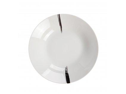 Talíř na polévku BRUSH  od by inspire 7619-00-23