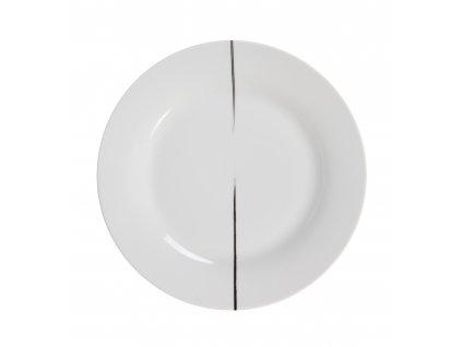 Mělký talíř BRUSH by inspire 7631-00-23