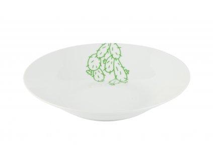 Polévkový talíř o průměru 20,5 cm CACTUS od by inspire 7619-00-38