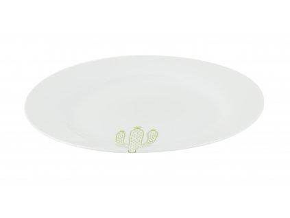 Mělký jídelní talíř 27 cm CACTUS od by inspire 7631-00-38