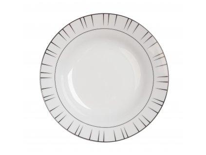 Polévkový talíř o průměru 22 cm LEVEL od by inspire 7629-00-32