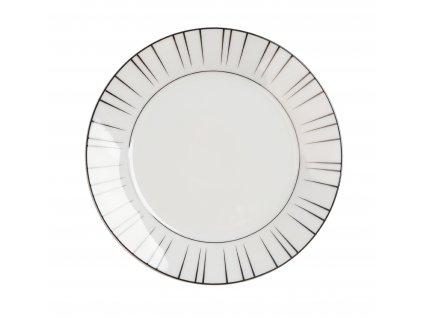 Porcelánový dezertní talíř 19 cm - LEVEL