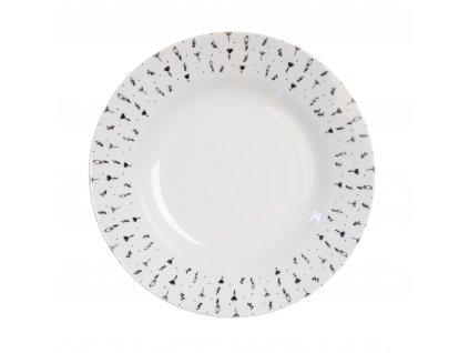 Polévkový talíř 22 cm HERBS od by inspire 7629-00-33