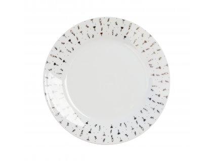 Porcelánový dezertní talíř 19 cm - HERBS