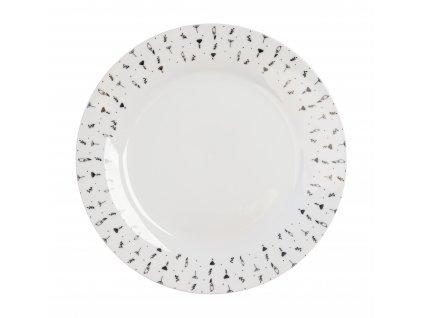 Mělký talíř 27 cm HERBS od by inspire 7631-00-33