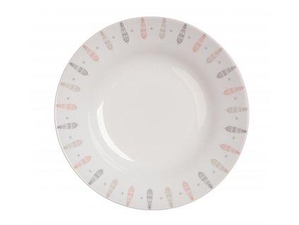 Polévkový talíř 22 cm PÍRKA od by inspire 7629-00-34