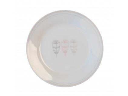 Dezerntí talíř 19 cm PÍRKA TOTEM od by isnpire 7630-34-34