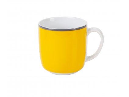 Porcelánový hrnek žlutý 350 ml