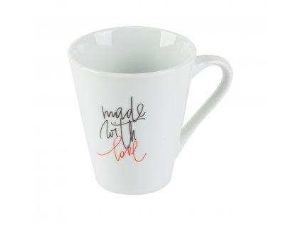 Hrnek na čaj nebo kávu 250 ml LOVE od by inspire 7626-00-45