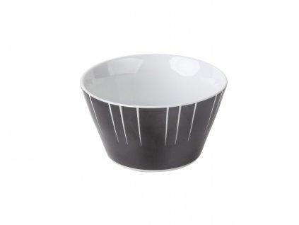 Miska na kompot 450 ml na kompot, salát nebo cereálie LEVEL BLACK od by inspire 7627-32-32