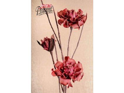 Dekorativní květina červená - Paramit - 3-78R