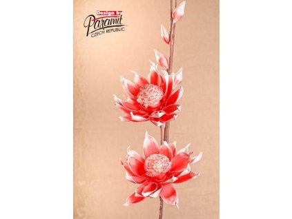 Dekorativní květina světle červená - Paramit - 3-83O