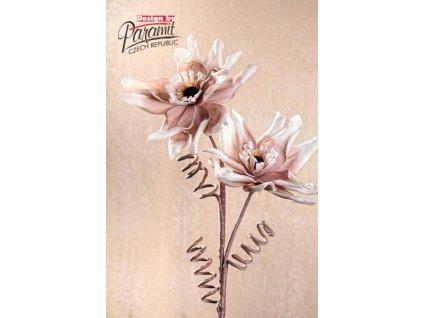 Dekorativní květina hnědá - Paramit - 3-91B