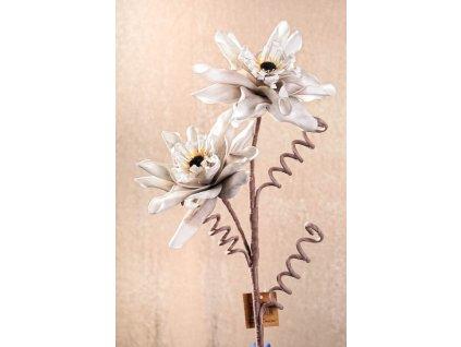 3 91GY Aranžovací květina šedá 96 cm