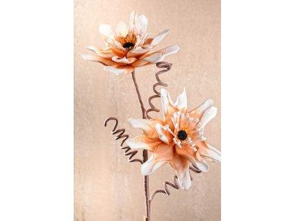 3 91O Aranžovací květina oranžová 96 cm