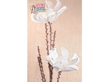 Dekorativní květina bílá - Paramit - 3-92W