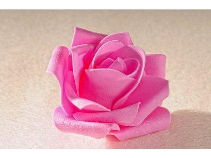 3 80P Aranžovací květina růžová 7 cm