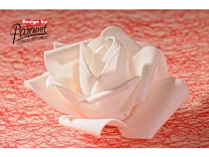 Dekorativní květina bílá - Paramit - 3-80W