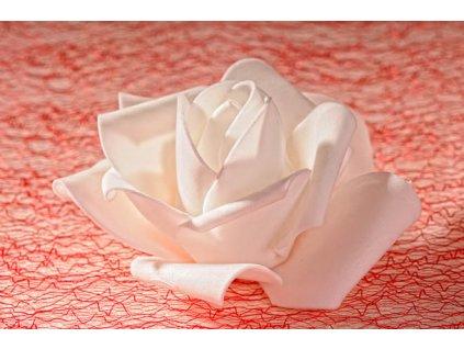 3 80W Aranžovací květina bílá 7 cm