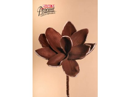 Dekorativní květina hnědá - Paramit - 3-81B