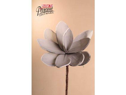 Dekorativní květina šedá - Paramit - 3-81G