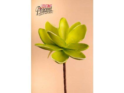 Dekorativní květina světle zelená - Paramit - 3-81G1