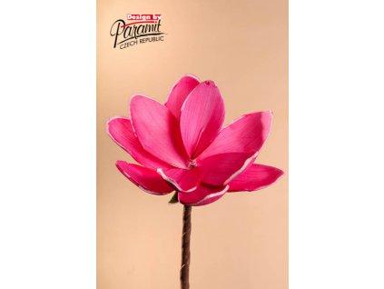Dekorativní květina růžová - Paramit - 3-81PI
