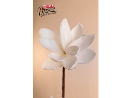 Dekorativní květina bílá - Paramit - 3-81W