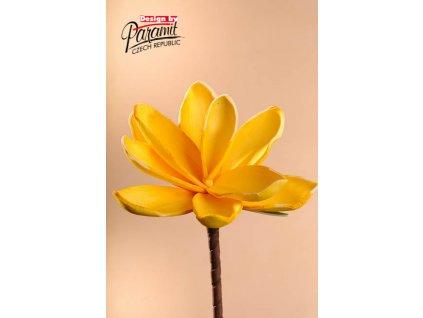 Dekorativní květina žlutá - Paramit - 3-81Y