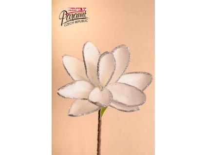 Dekorativní květina bílá - Paramit - 3-82W