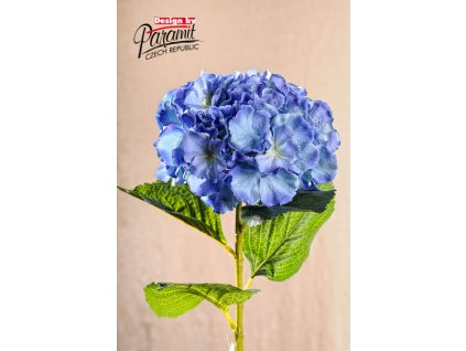 Dekorativní květina hortenzie modrá - Paramit - F105-B