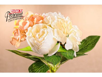 Dekorativní kytice bílá - Paramit - 3-86W - 3-86W
