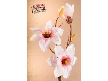Dekorativní květina magnolie růžová - Paramit - 3-88P1