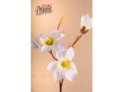 Dekorativní květina magnolie bílá - Paramit - 3-88W