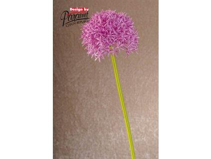 Dekorativní květina česnek růžová - Paramit - 1001P