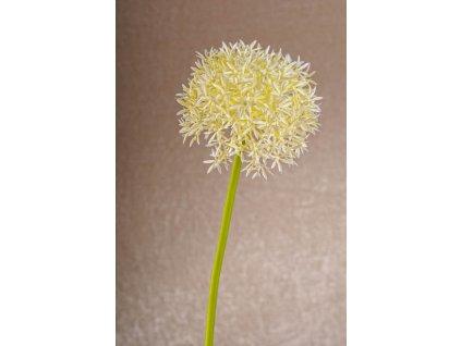 1001W Umělá květina umělý česnek bílý