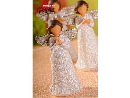 Figurka Anděl Beáta modlící se - Paramit - X062