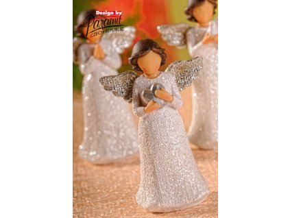 Figurka Anděl Beáta se srdíčkem - Paramit - X061