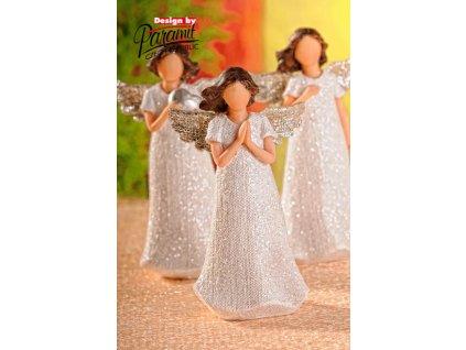 Figurka Anděl Beatrix modlící se - Paramit - X065