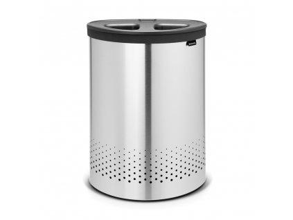Koš na prádlo Selector 55 l - matná ocel - Brabantia - 105029