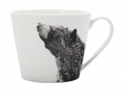 Hrnek na čaj 450 ml - Asiatic black bear - Maxwell and Williams