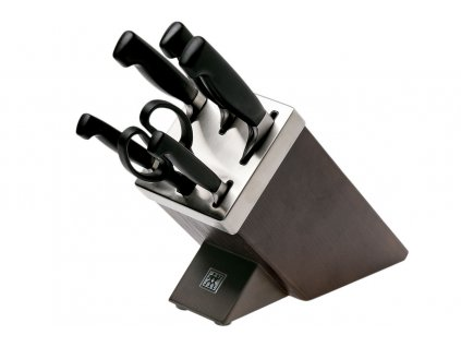 Samoostřící blok s noži Four Star, 7 ks - Zwilling J.A. Henckels - 35145-000