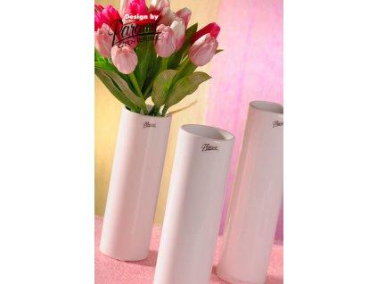 Váza bílá Polly Paramit12011 23W