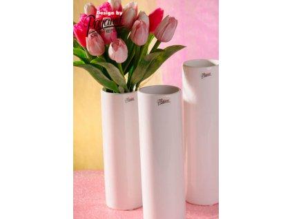 12011 25W Polly váza bílá Paramit