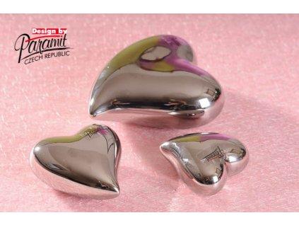 11055 7S Srdíčko stříbrné 7 cm Paramit