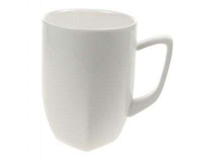 Porcelánový hrnek Quadro 280 ml, bílý - by inspire
