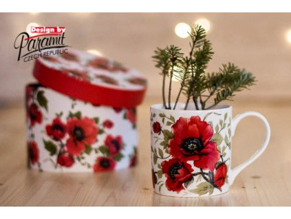 H83 Lina Porcelánový hrnek na čaj nebo kávu Paramit