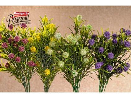 Umělé květiny bobulky 4 barvy 38 cm