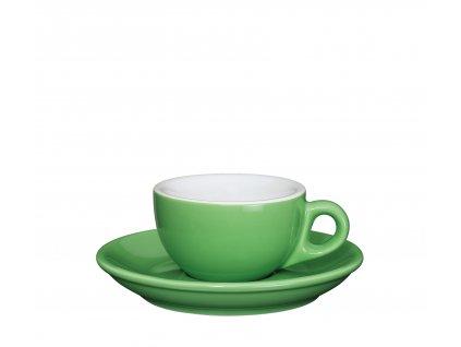 215175 Šálek s podšálkem ROMA 50 ml světle zelený od CILIO