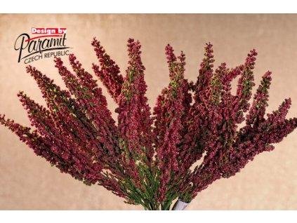 F49523 uměla rostlina vřes fialový 28cm